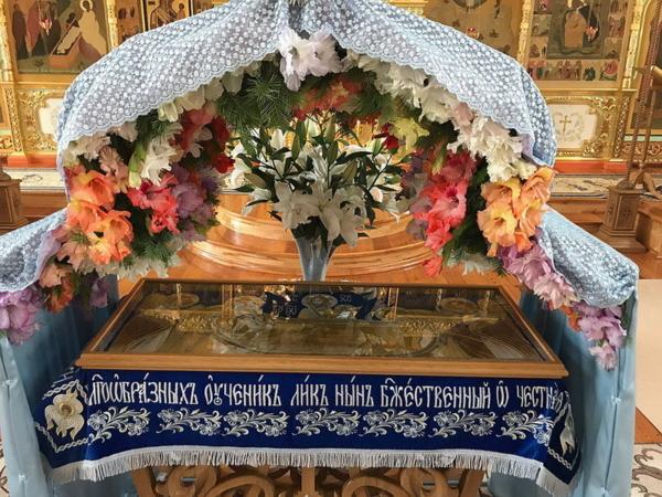 Праздник в честь Успения Пресвятой Богородицы в Преображенском монастыре