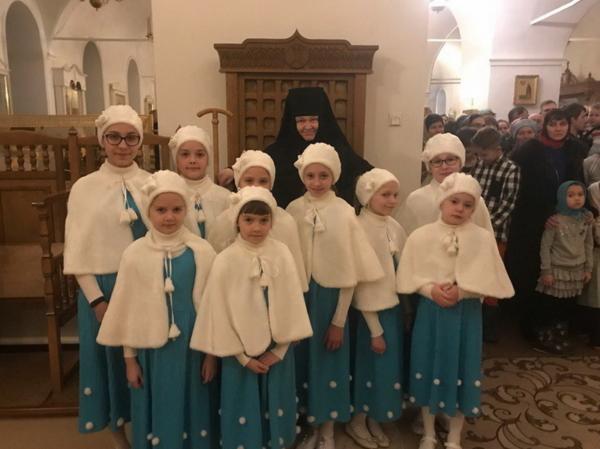 Рождество Христово в Преображенском монастыре