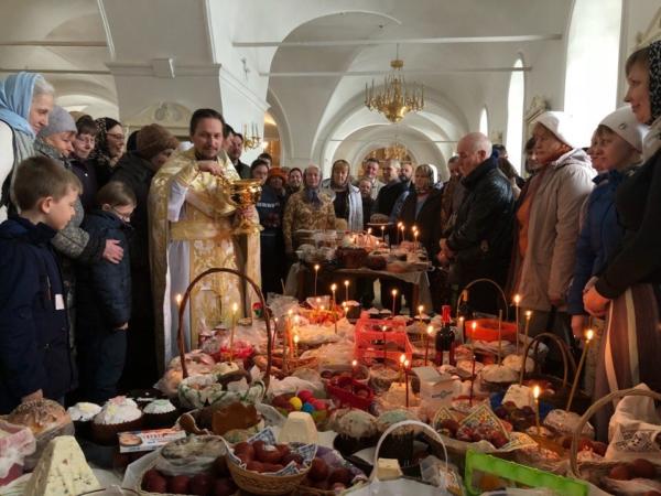 Праздник Благовещения Пресвятой Богородицы в Преображенском монастыре