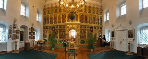 Праздник Святой Троицы (Пятидесятницы) в Преображенском женском монастыре
