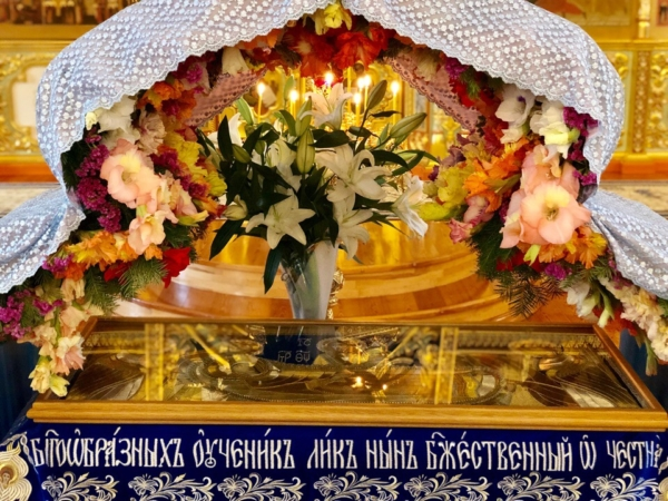 Праздник Успения Пресвятой Богородицы отметили в монастыре
