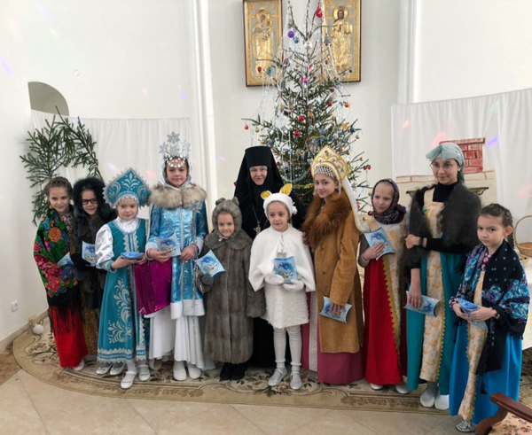 Рождественский концерт в Преображенском монастыре